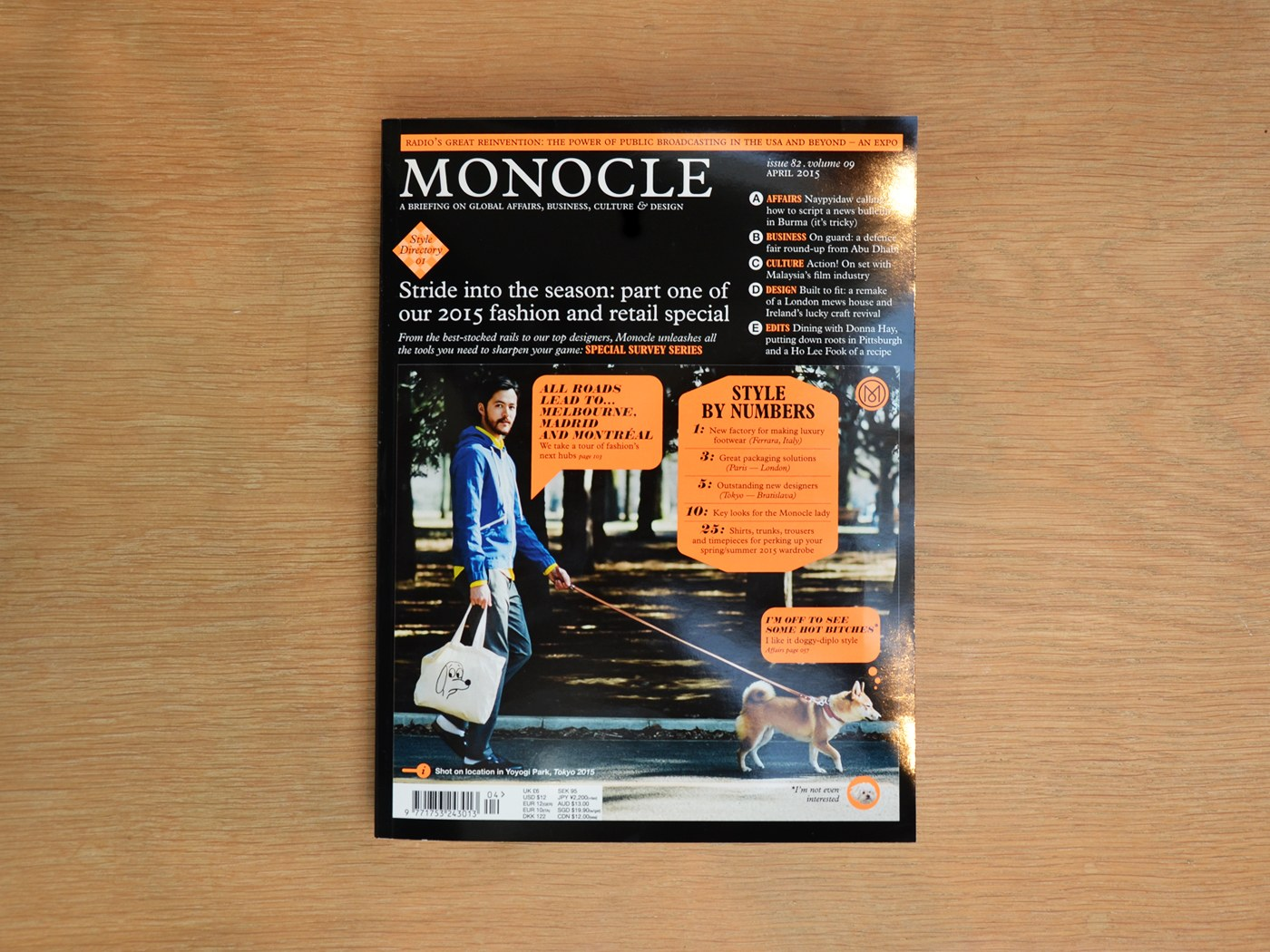 Monocle, Magazines and Memory